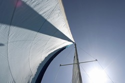 Sails Tack Wind and Sun