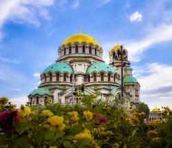 Saint Alexander Nevski Cathedral in Sofia, Bulgaria