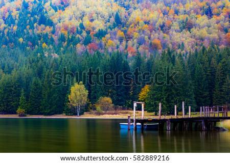 Saint Ana lake Zdjęcia stock ©