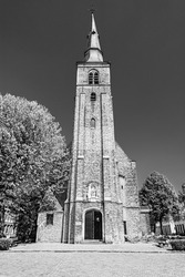 Saint Anne's Church in Bruges, Belgium, Catholic church built at the start of the 17th century