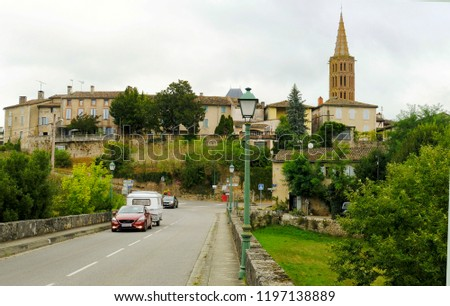 Saint Antonin Noble Val, Tarn et Garonne, France, Europe