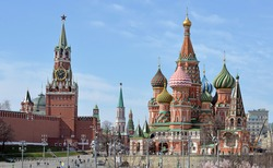 Saint Basil's Cathedral - Moscow  Russia