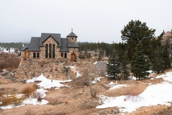 Saint Catherine´s Chapel on the rock