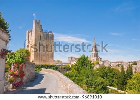 Saint-Emilion, Gironde, Aquitaine, France (A UNESCO World Heritage Site)