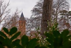 Saint Exupere Parish on 6 Lamarck Street near Museum of Toulouse, France.