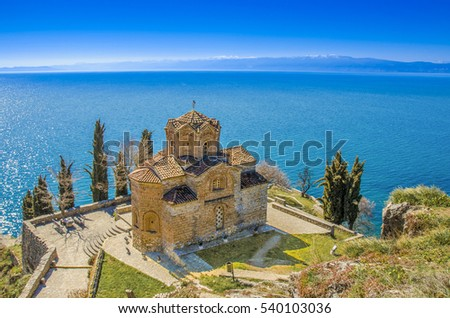 Saint John - Kaneo, Orthodox Church in Ohrid, Macedonia