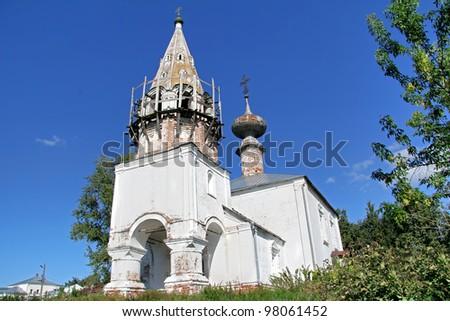Saint John the Baptist Church in Suzdal, Russia