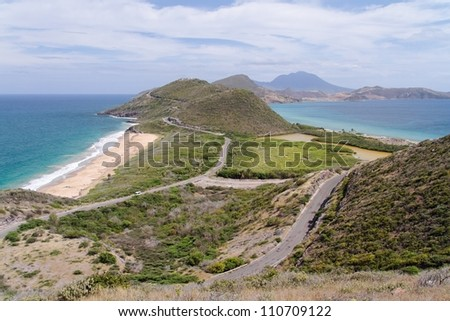 Saint Kitts Panorama