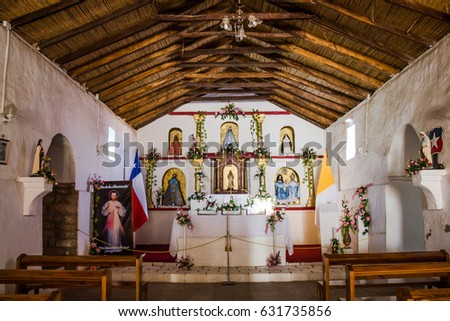 Saint Lucas Church, Toconao, Chile
