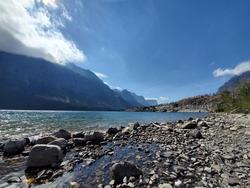 Saint Mary Lake, Glacier National Park, Montana, U.S.