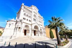 Saint nicholas cathedrale in Monte Carlo, Monaco.