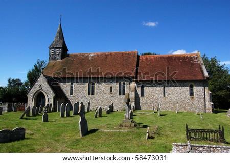 Saint Nicholas Church, Lavant The church of Saint Nicholas in Lavant, Sussex.  An historic structure, set amidst an old graveyard.