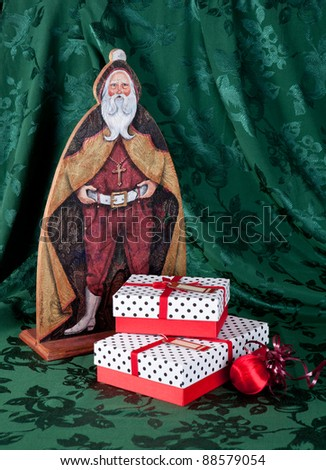 Saint Nick art and gifts for Christmas