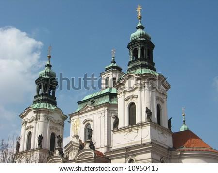 saint nikolaus church in prague