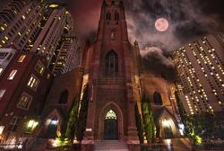 Saint Patrick Church, San Francisco, USA