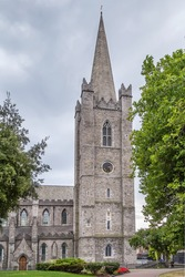 Saint Patrick's Cathedral in Dublin, Ireland, founded in 1191, is the National Cathedral of the Church of Ireland