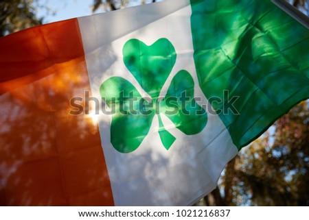 Saint Patrick's Day Flag