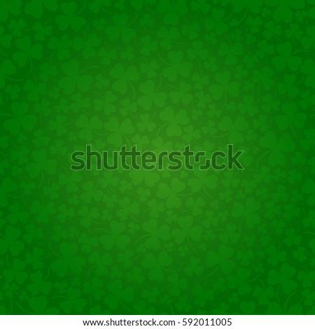 Saint Patrick's day seamless background