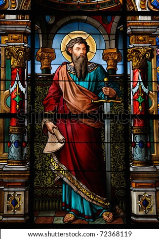 Sts peter paul on pinterest paul the apostle peter for Window in german
