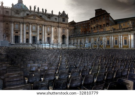 Saint Peter cathedral, Roma, Italy
