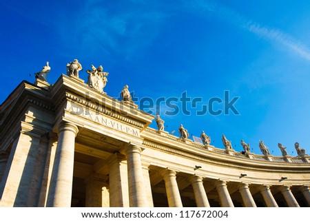 Saint Peter's Square Rome Italy
