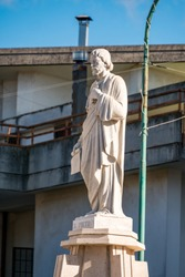 Saint Peter statue, located on Sanctuary of