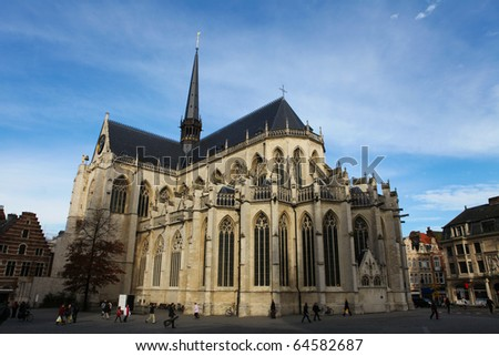 Saint Peters Church in Leuven, Flemish Brabant, Belgium
