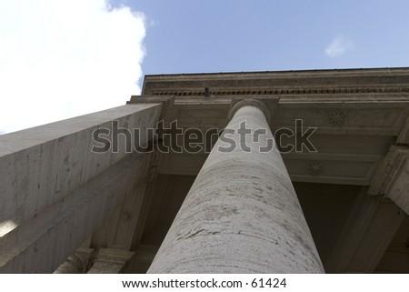 Saint Peters Square, Rome, December 2004