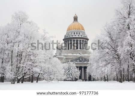 Saint-Petersburg in winter