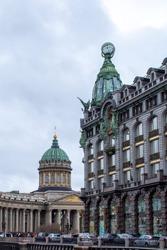 Saint Petersburg Zinger and Kazan Cathedral