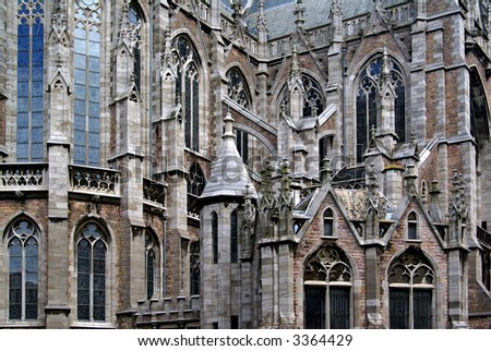 Saint Petrus and Paulus church in Ostend, Belgium.