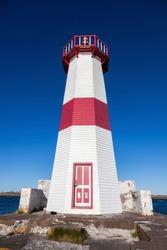 Saint Pierre Lighthouse. Saint Pierre, Saint Pierre and Miquelon.