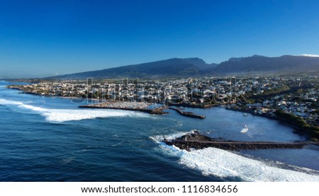 Saint-Pierre of Reunion Island