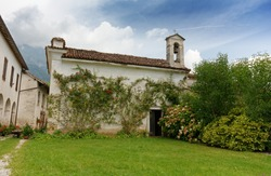 Saint Stephen country catholic church near Villabruna - Feltre, Italy