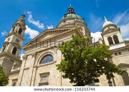 Saint Stephen's Basilica in Budapest, Hungary