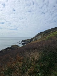 Saints Bay Cliff Paths, Guernsey Channel Islands