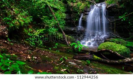 saitip Waterfall at Pusoidao Nation Park,  Uttaradith, Thailand