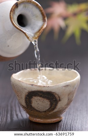 Sake - stock photo