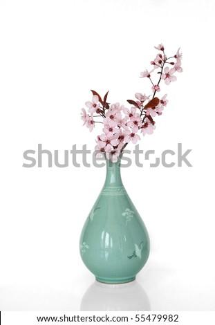 Sakura in a Japanese Vase