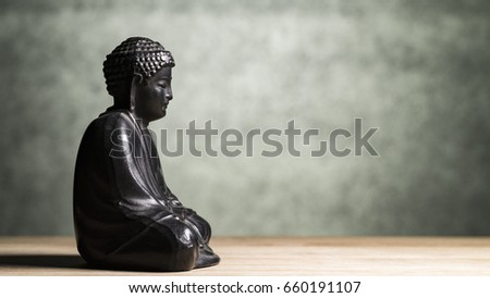 Sakyamuni Buddha sculpture - Shutterstock ID 660191107