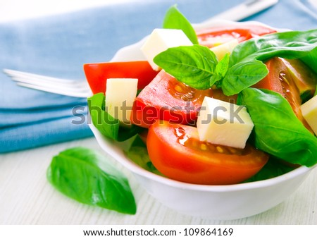 salad - stock photo