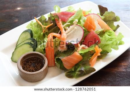 salad japanese style