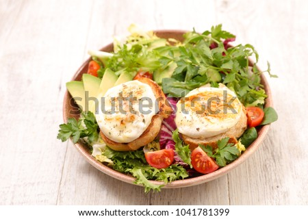 salad with goat cheese Photo stock ©