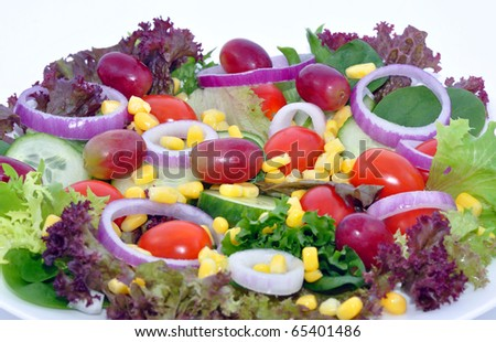 Salad With Grapes