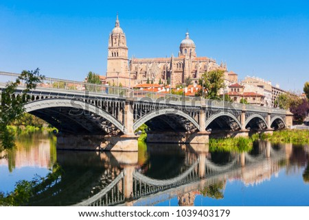 Shutterstock Salamanca Cathedral is a late Gothic and Baroque catedral in Salamanca city, Castile and Leon in Spain