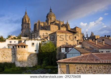 Salamanca, Spain - stock photo