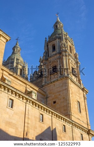 Salamanca University Tower, one of Europe's oldest universities.