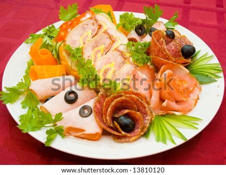salami ham meat and more