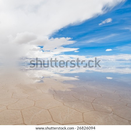 salar de uyuni, salt lake in bolivia