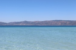 Salda lake is in Turkey with turquoise water and white sands.Space scientists are comparing Salda lake with Jezero Crater on Mars about microbiality,rocks,deposits,watershed minerals and alluvial fan